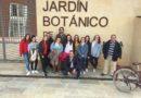 Alumnado de ASCT visita el Jardín Botánico