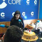 Invitados por la COPE, recitamos poemas de Gloria Fuertes