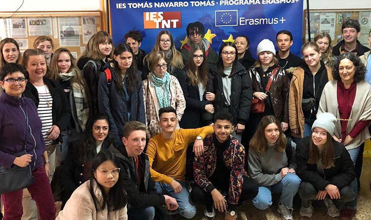 El IES Tomás Navarro Tomás recibió a estudiantes alemanes y belgas dentro del programa Erasmus+