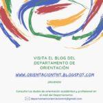 Nuevo blog del Departamento de Orientación