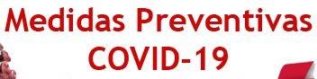 Medidas preventivas y sanitarias de la EVAU 2020
