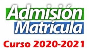 Instrucciones Matriculación ESO  y Bachillerato Curso 2020/21