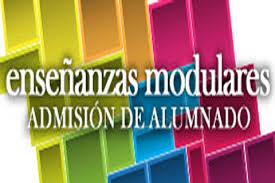 Admisión de alumnado a Enseñanzas Modulares de CCFF de FP para el curso 2020/2021.