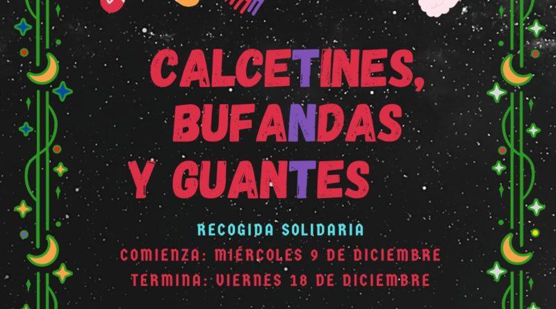 Recogida solidaria de calceTines, bufaNdas y guanTes