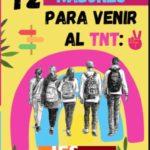 12 razones para venir al TNT (Enlace cita previa visita al centro)